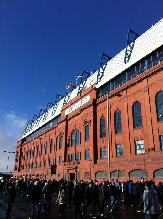 Ibrox Stadium in Glasgow, Glasgow City