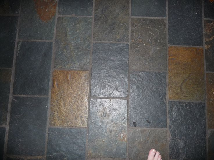 This is the existing slate