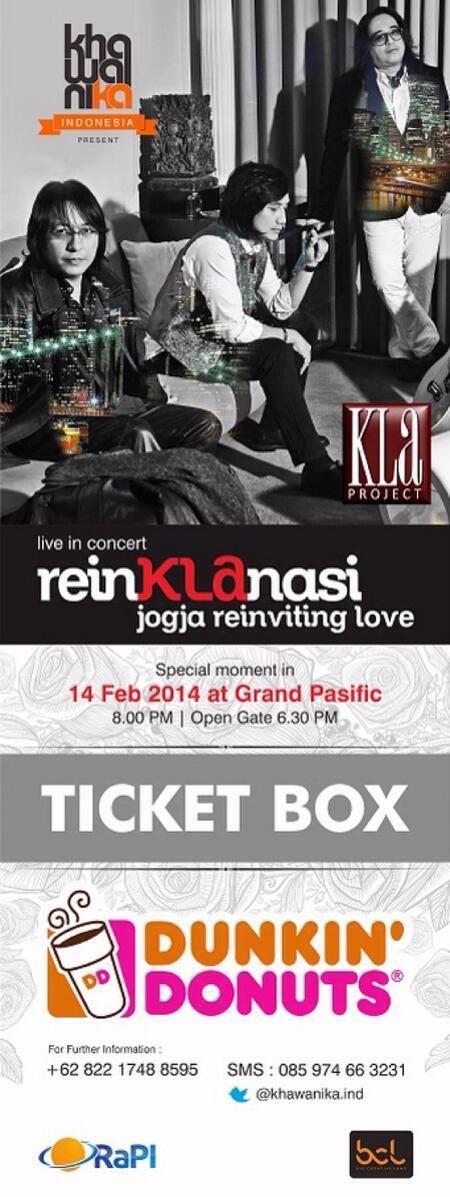 Kla Project live in concert reinKLAnasi jogja reinviting love