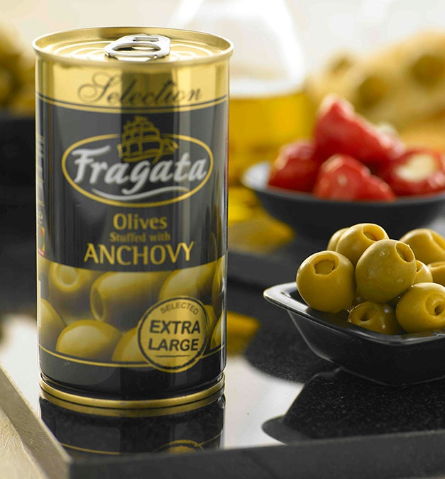 Anchovy Stuffed Extra Large Olives