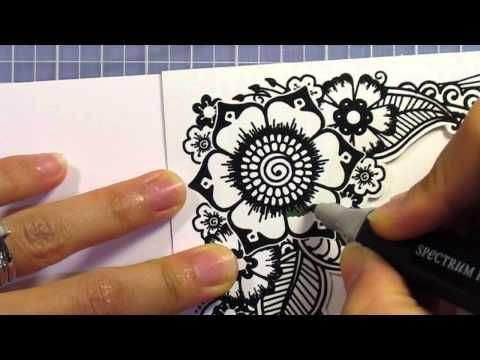 Floral Zen Card Toppers - Simply Ann