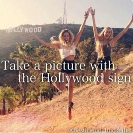 Also climb the hollywood sign