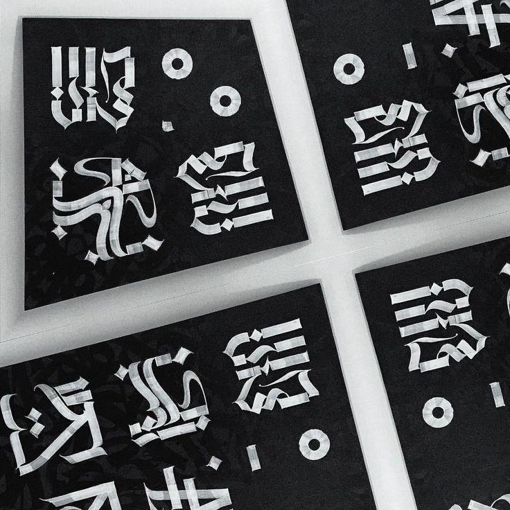 POKRAS LAMPAS — @calligrafuturism  W °  R  K  H  A  R  D  5  T  A... каллиграфия