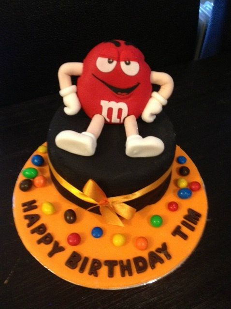 9 best MMs party images on Pinterest Birthday cakes Birthday