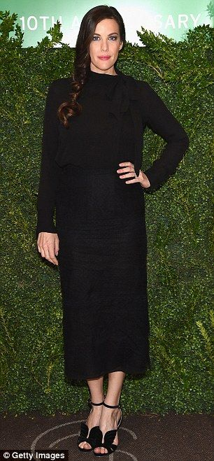 Moms' night out: Olivia Wilde, left, and Liv Tyler, right, made stylish appearances atThe...