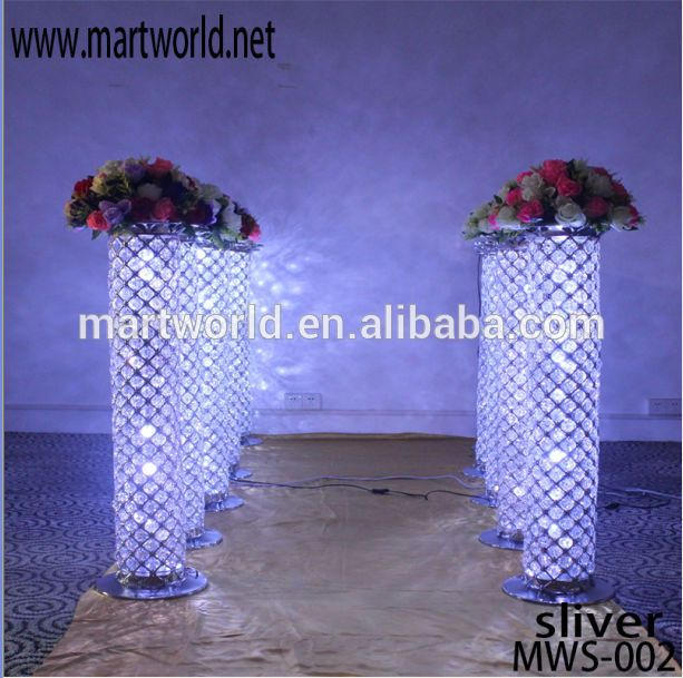 Silver Led Pillar Columns Crystal For Wedding Decorations Aisle,Wedding Pillar Columns For Sale(mws-002) Photo, Detailed about Silver Led Pillar Columns Crystal For Wedding Decorations Aisle,Wedding Pillar Columns For Sale(mws-002) Picture on Alibaba.com.