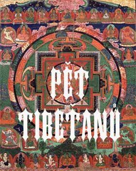 pet tibetanu kniha