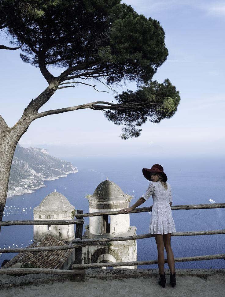 Aje travel feature for Vogue January 2017 // Edwina Robinson and Felix Forest - Almafli Coast  #Aje #AjeTheLabel #AjeFashion #Vogue #VogueTravel #Travel #Italy #France #AmalfiCoast #Sicily #Paris #Rome #Tuscany #ZaraWong #FashionEditor #Photography #Nature #Beauty #Touring #Effortless #Style