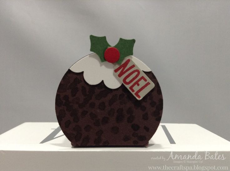 The Craft Spa - Stampin' Up! UK independent demonstrator : Ferrero Rocher Christmas Pud