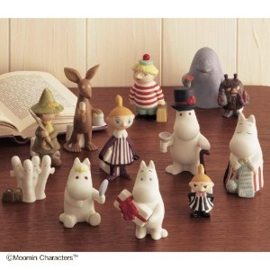 Moomin figures collection