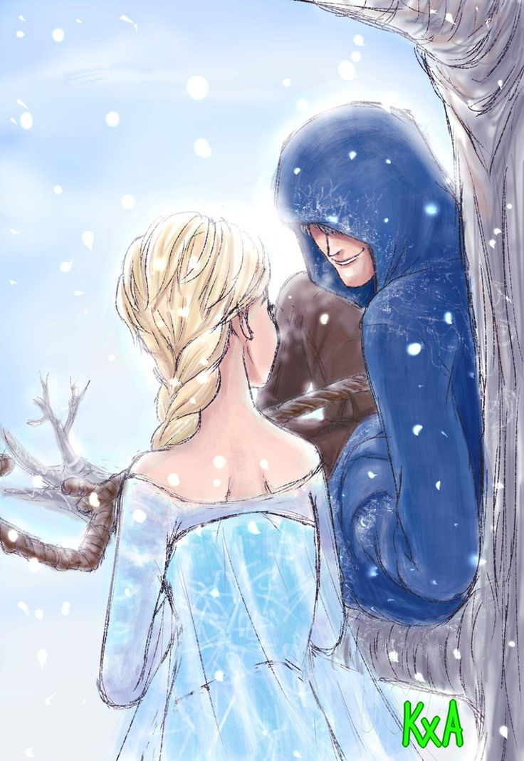 Jelsa 1 by keixayaka on DeviantArt I love how the frost is entering the inside of the hood