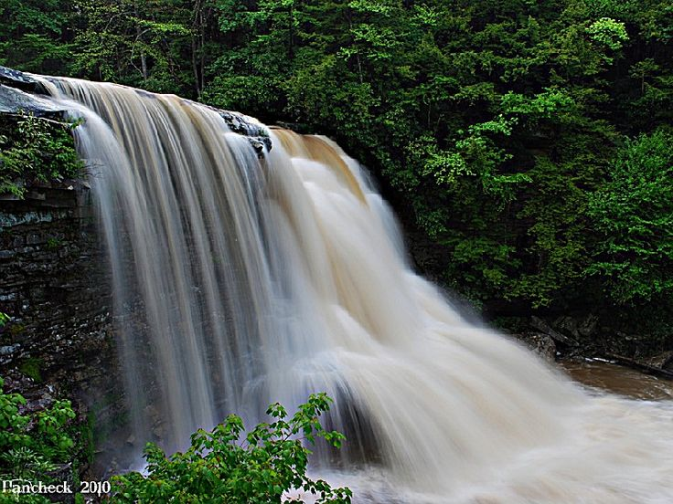 Swallow Falls State Park, a Maryland park located near Oakland