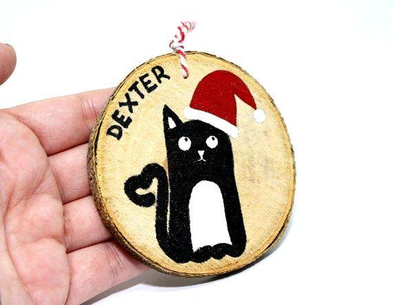 Animali Natale regalo, ornamento di Natale personalizzati dell
