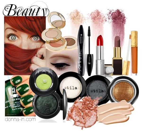 Red Head Make Up