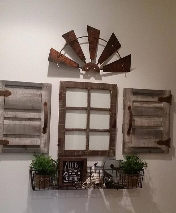 Home Decor Explanation 2483508687 From Incredibly Creative To Charming Decorating Concept And Suggestion Windmill Wall Decor Windmill Decor Rustic Wall Decor