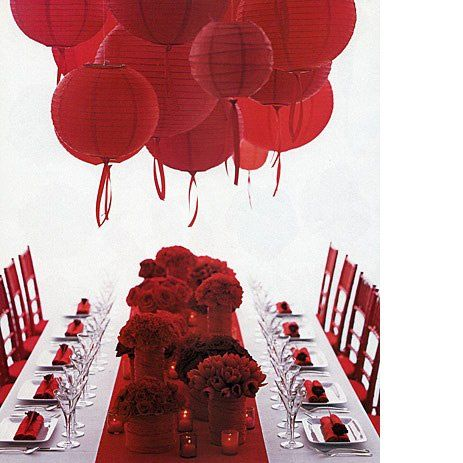 red paper lantern decorations