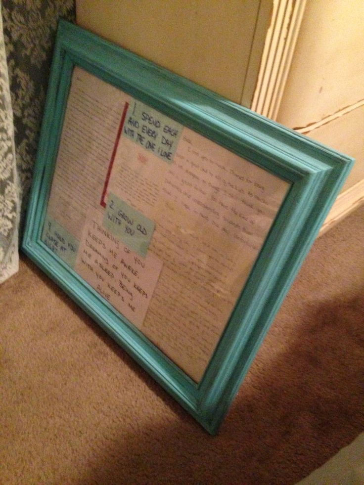 17 best Framing old letters images on Pinterest | Craft, Frame and ...