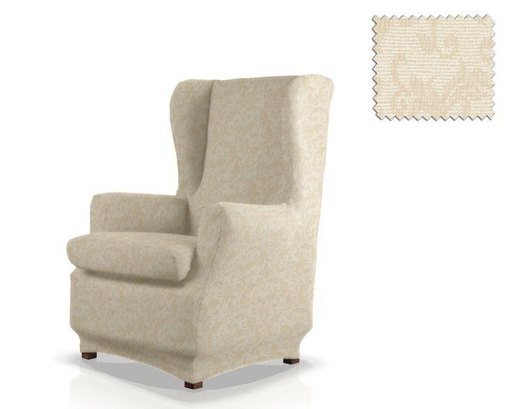 Housse elastique fauteuil oreilles arizona d co for Housse de fauteuil a oreilles