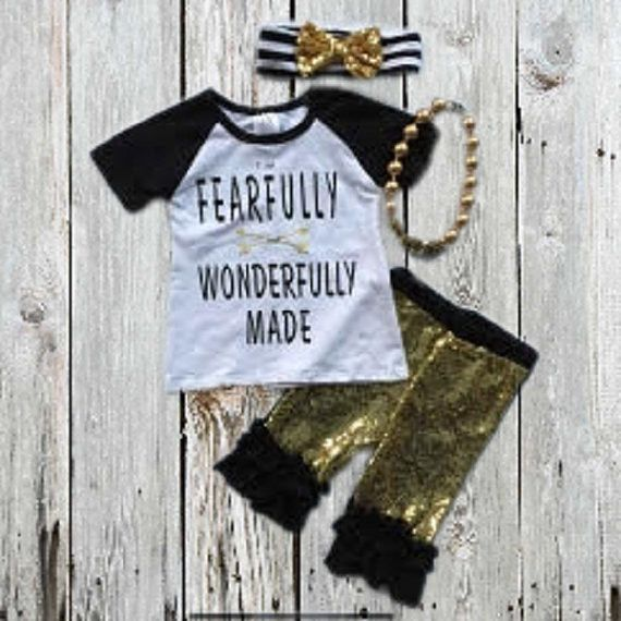 """Fearfully & Wonderfully Made"" Sequin Outfit"