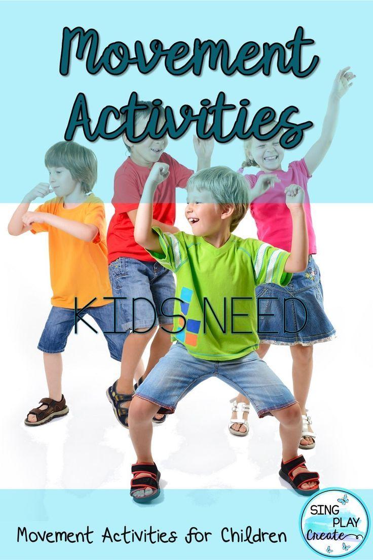 Creative Movement activities for elementary music, PE, Special Needs, classroom teachers. Brainbreaks, Videos, Games for K-6 Fun!