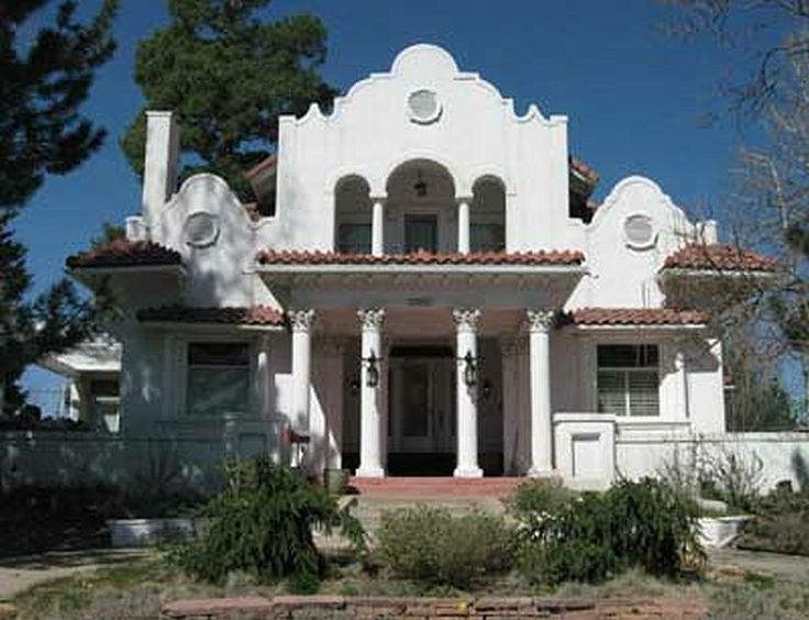 Spanish Mission Revival Home Home Pinterest