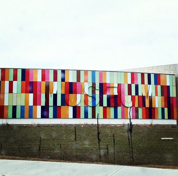 Colourful exterior of a museum in #Kitchener #Ontario #Canada