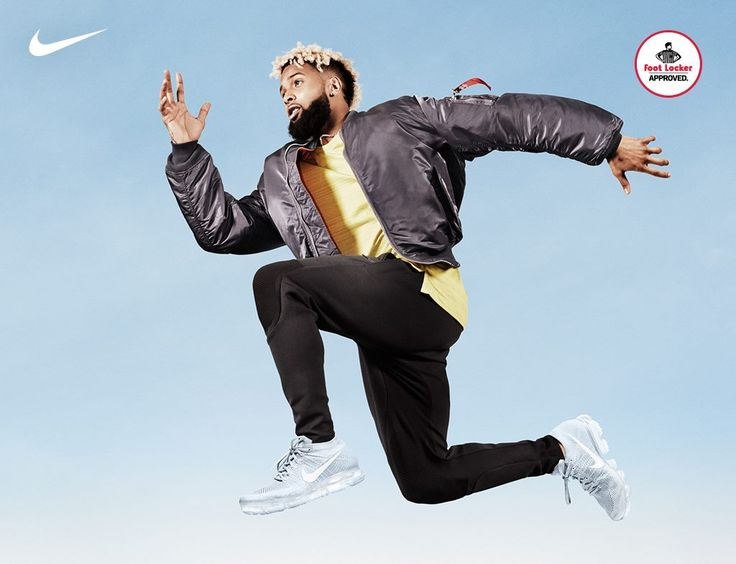 Odell Beckham Jr wears the lightest and most flexible Air Max ever. The Nike Air VaporMax is in stores and online.