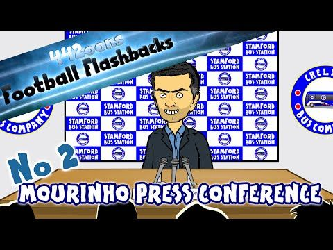 Jose Mourinho Special One Press Conference 2004 Parody - FOOTBALL FLASHBACK by 442oons Ep2 - YouTube