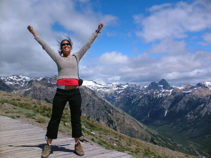 #PotentialistCanada - Trip Purpose 2: Travel and have new adventures - Hiking in the Andes, Argentina