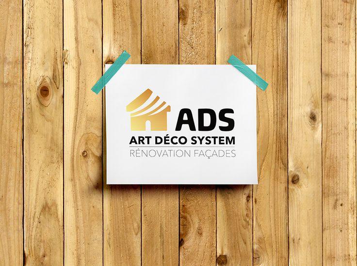 Logo pour l'entreprise ADS Art Déco Systèmes  #Logo #Creation