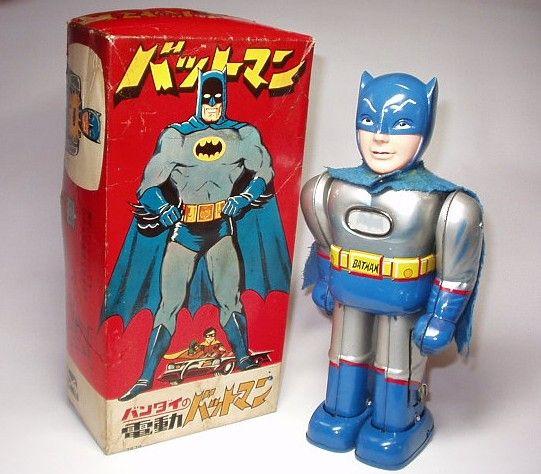 Batman tin toy