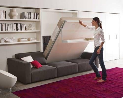 ¡Por fin, camas abatibles de diseño impecable (ya era hora)! 7  No veo quien las vende