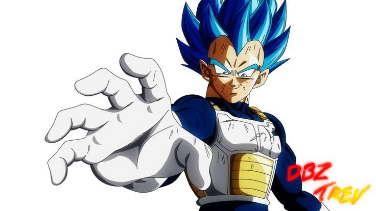 Vegeta Ultra Super Saiyan Blue by DBZTrev