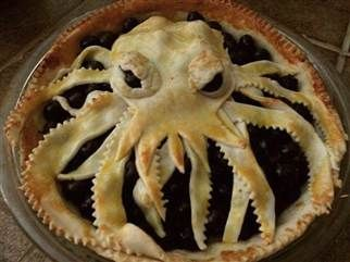 Oh.My.God. Octo-pie. Octopi. Bahahahahahahah!!! #Pie #Octopus