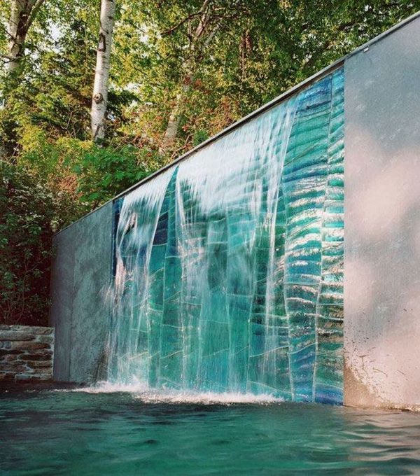 Best 25 Wall Water Features Ideas On Pinterest Contemporary Water Feature Wall Waterfall And