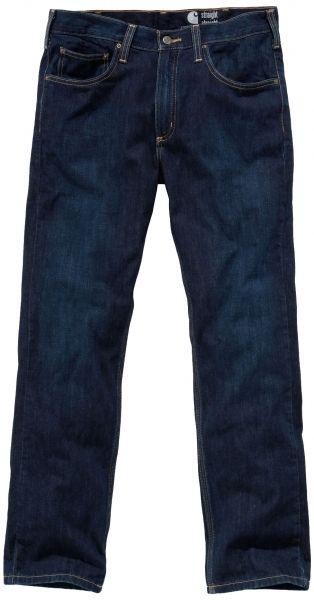 Carhartt Arbejdsjeans Straight Fit Straigh Leg, 100% bomuld, mørk denim (100067-487) - ArbejdsBUKSER - BILLIG-ARBEJDSTØJ.DK
