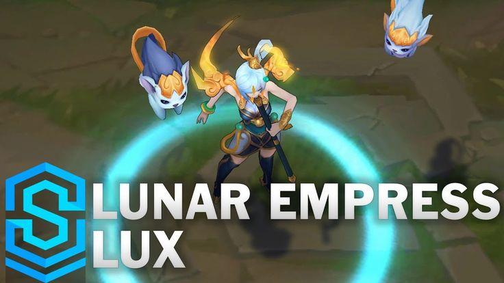 Lunar Empress Lux Skin Spotlight https://www.youtube.com/watch?v=Myv7ofzG_O0 #games #LeagueOfLegends #esports #lol #riot #Worlds #gaming