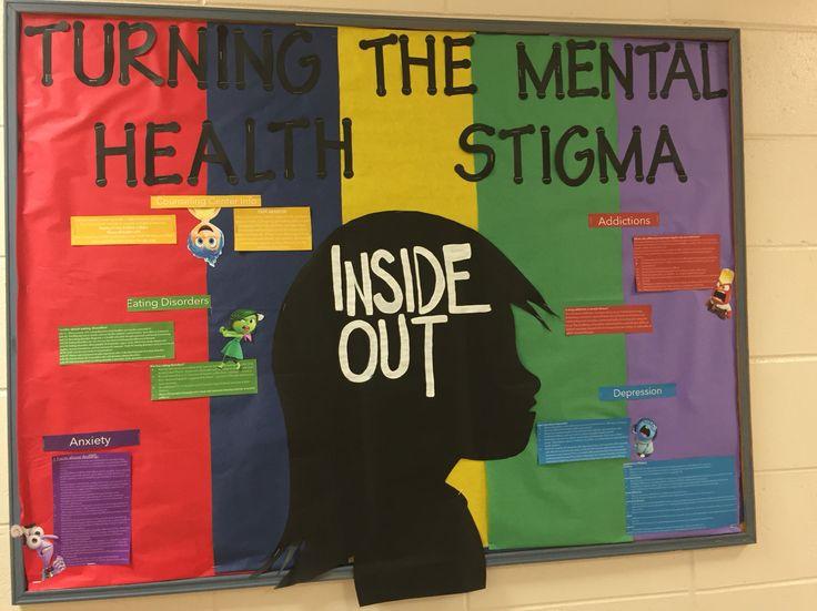Turning the mental health stigma inside out bulletin board