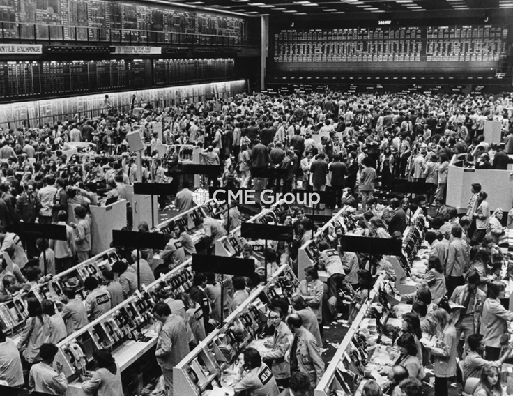 Historical photo- Trading Floor