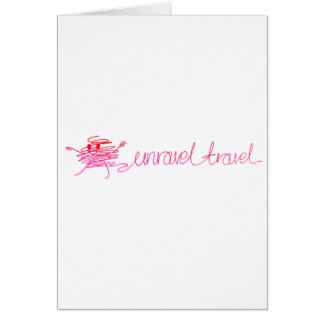Time to Unravel Your Travel - Start Planning Today Greeting Card