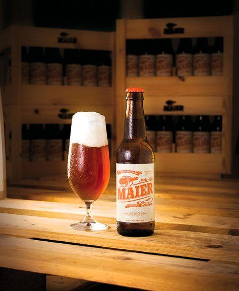 Cerveza Maier Bottle