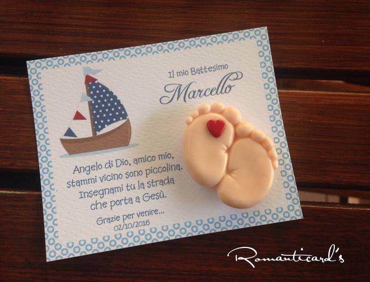 Bomboniera personalizzata con calamita in fimo by Romanticards, by Romanticards e Little Rose Handmade, 1,60 € su misshobby.com