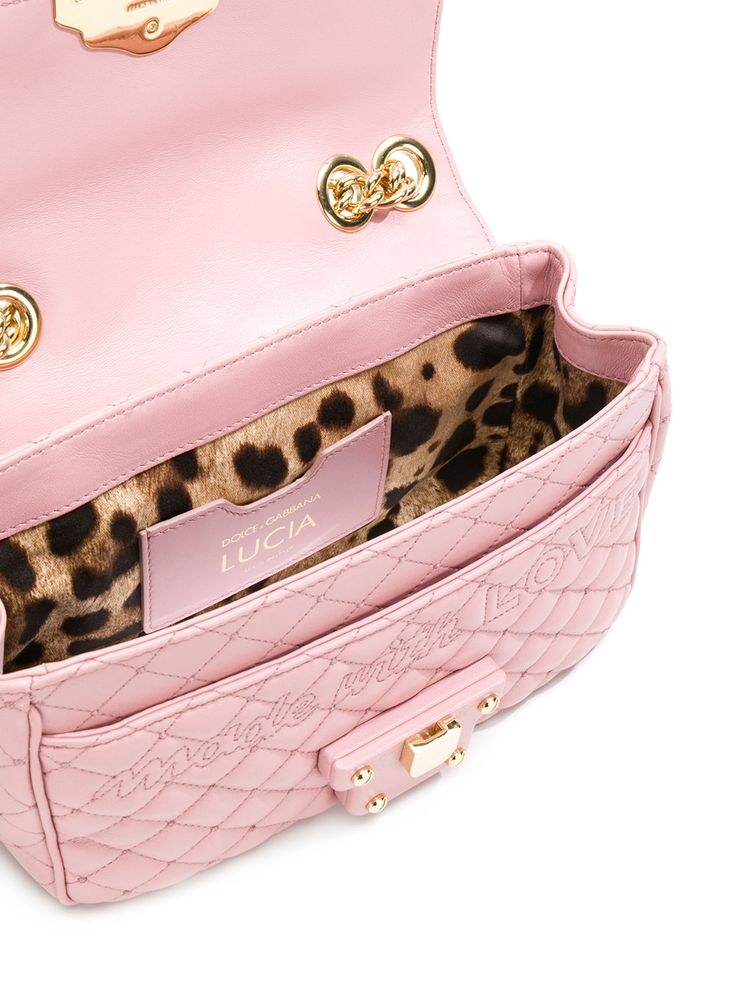 Dolce & Gabbana Lucia quilted shoulder bag