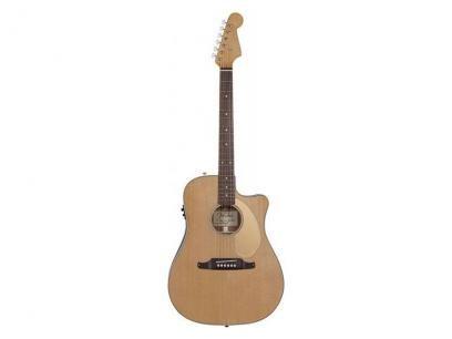 Violão Fender Sonoran SCE Eletroacústico Folk - com Afinador - Natural com as melhores condições você encontra no Magazine Raimundogarcia. Confira!