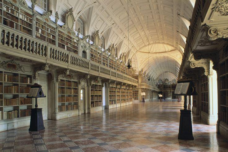 Biblioteca del Monasterio de Mafra, Portugal