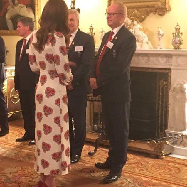 #New . The Duke & Duchess of Cambridge and Prince Harry are meeting #Rio2016 @TeamGB & @ParalympicsGB at the #GBHeroesLDN reception.. ✨✨✨❤️❤️❤️ . #avankhsherwani#katemiddleton#duchessofcambridge#erbil#hawler#kurdistan#princewilliam#kensingtonpalace#PrinceGeorge