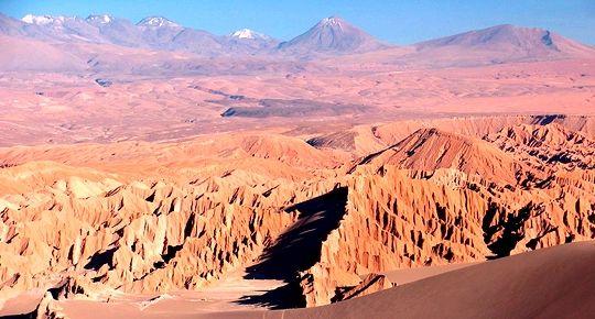 Púšť Atacama, Čile, Južná Amerika