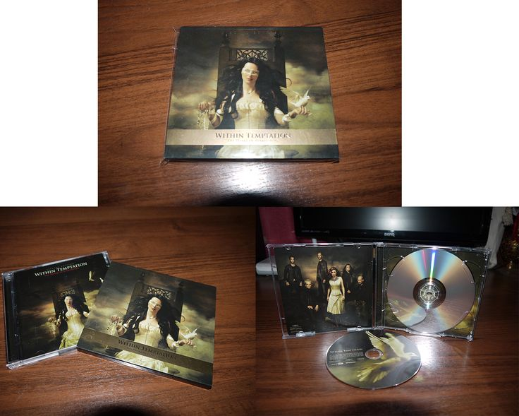 Within Temptation - The Heart of Everything (jewel case in slip case Gold edition CD/DVD) 2007 EU