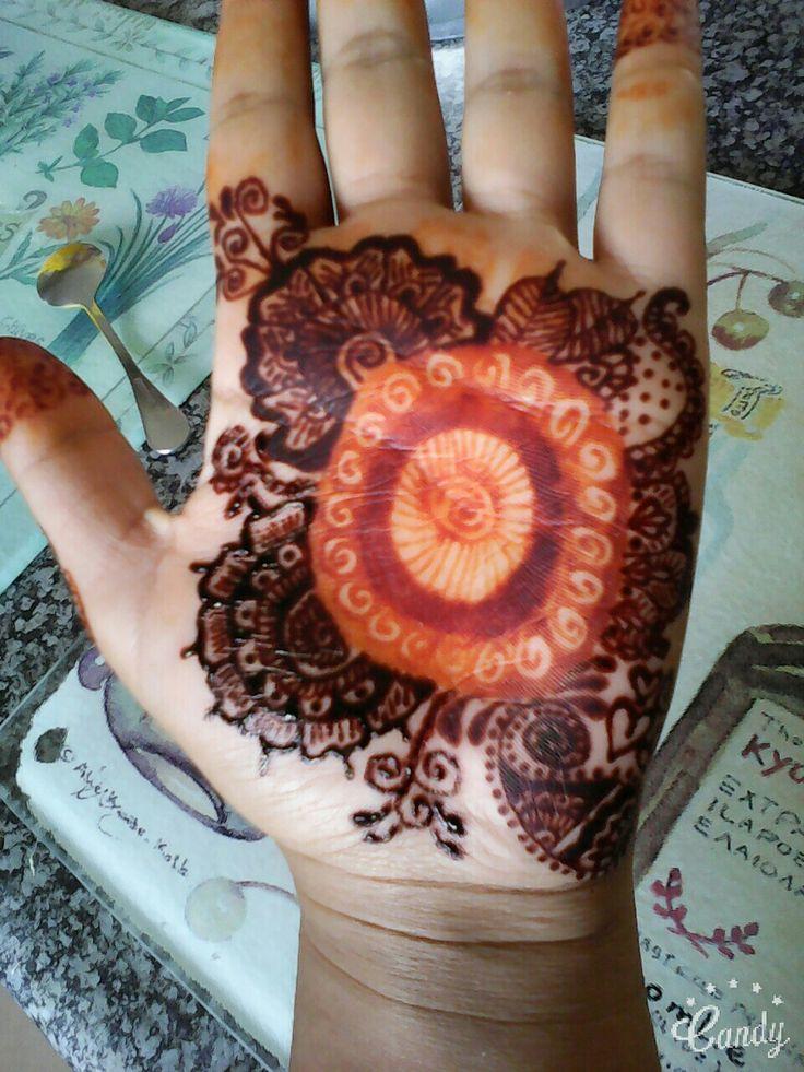 Henna Design's full of   Combinations for beginners Henna BY Derenisha Naidoo