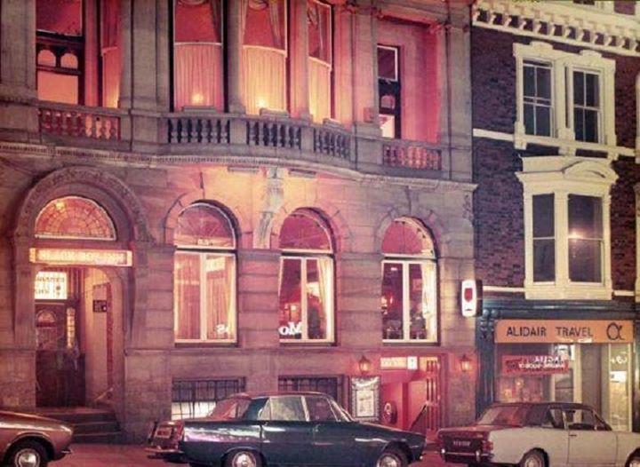 The Black Boy Inn, Market St,  1972